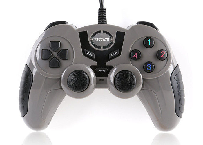 Gray Color Gaming Pc Controller , Pc Usb Gamepad For Android Phones GP001